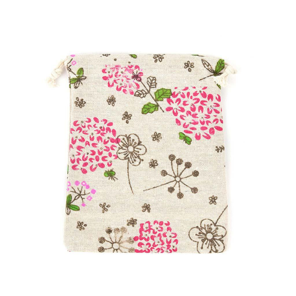 Textilné vrecúško 14x16 cm, mix motívov