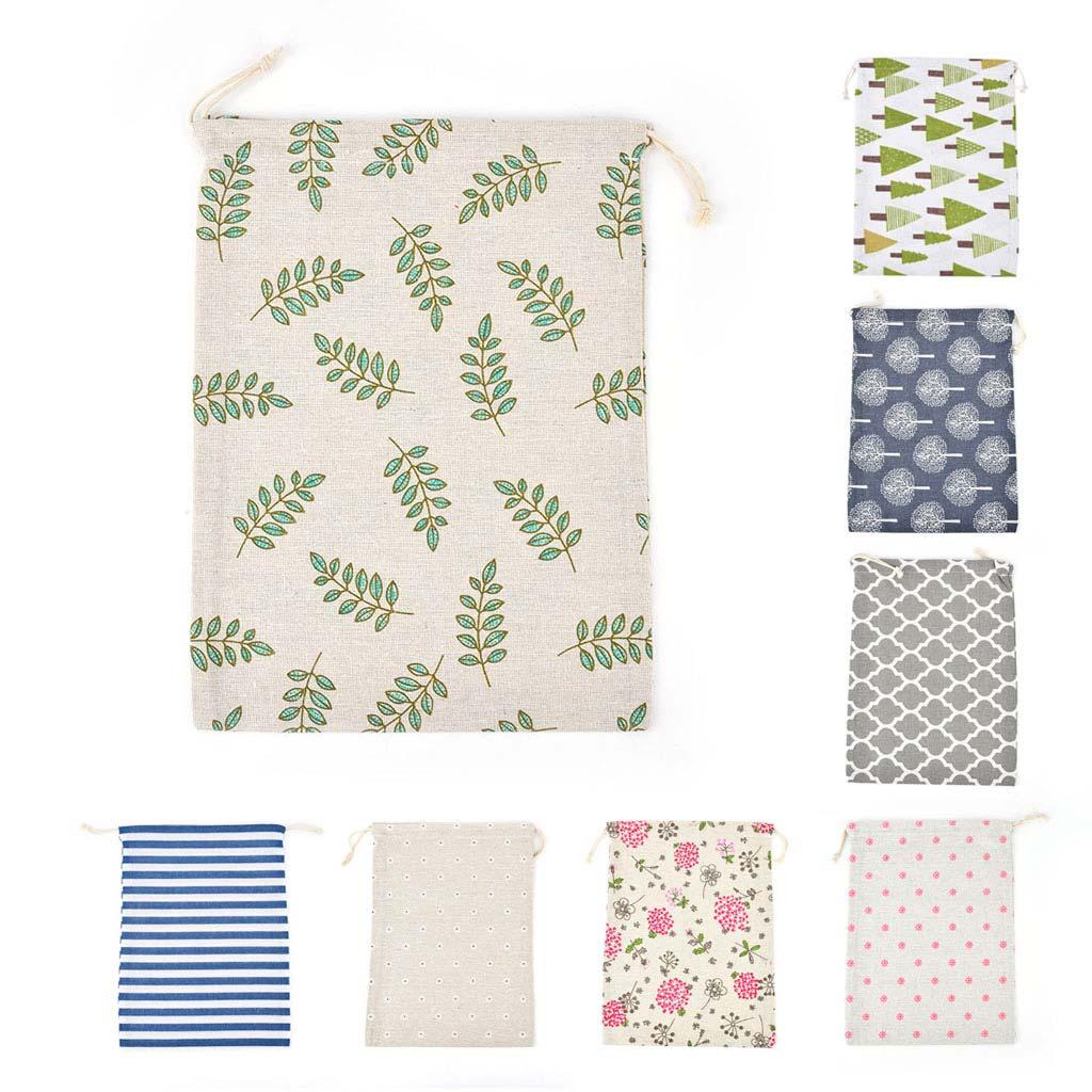 Textilné vrecúško 25x32 cm, mix motívov