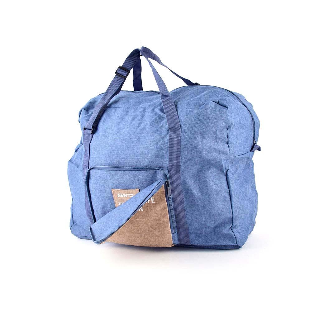 Skladacia cestovná taška, mix farieb