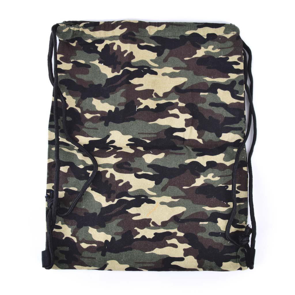 Textilné vrecko na prezúvky, camo