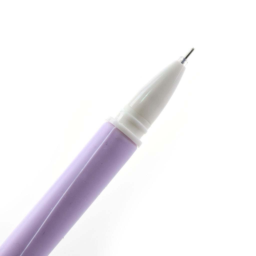 "Pero gelové 0,5 mm, čierna náplň, ""sakura"", mix farieb"