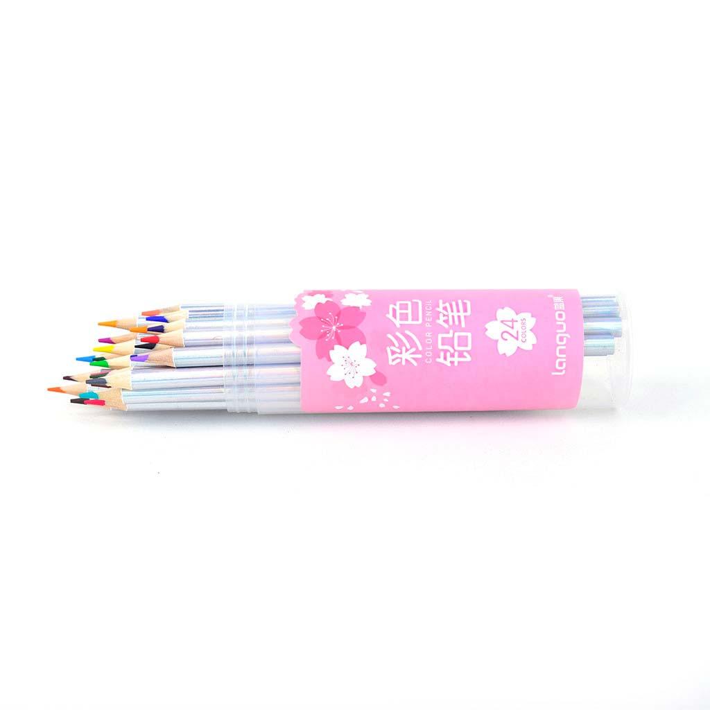 Farbičky v plastovej tube / 24 ks