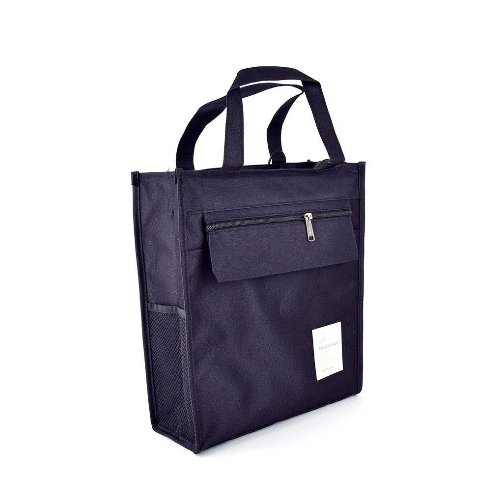 "Textilná taška so zipsom Languo ""Super Scholar"", mix farieb"