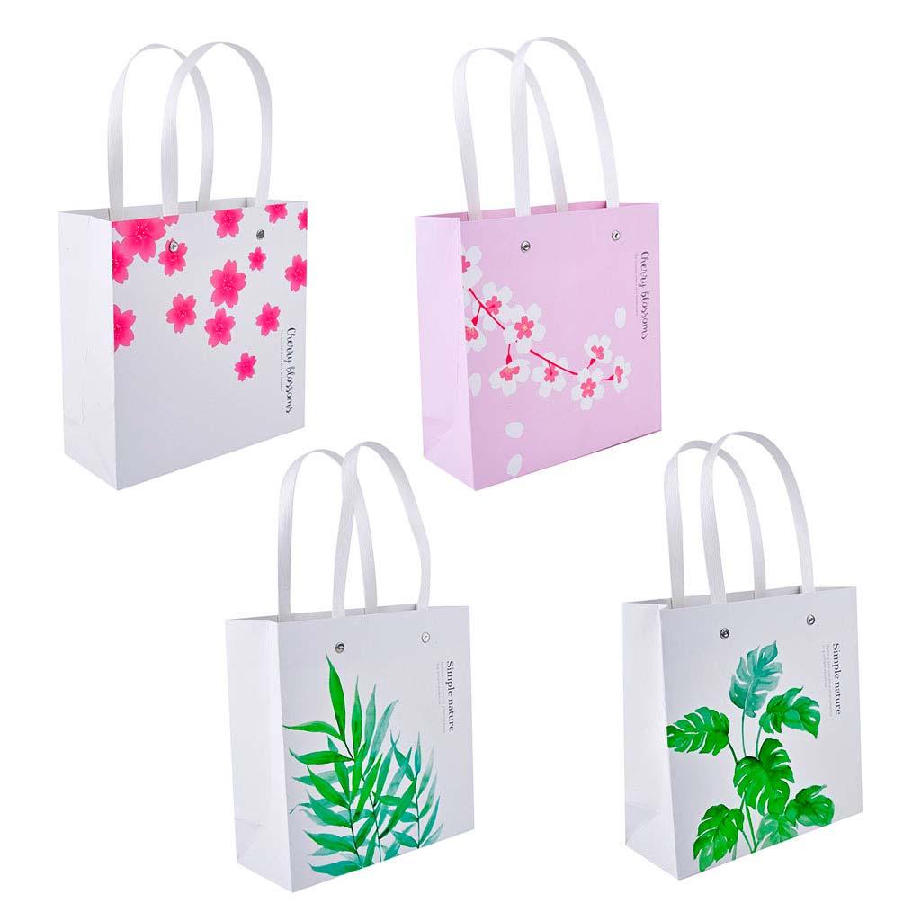 Darčeková taška, 20x20x8cm, mix motívov