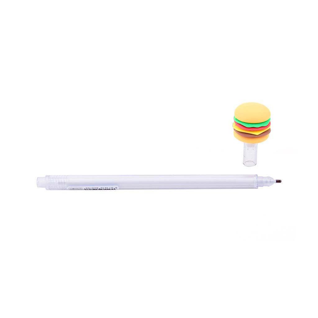 """Pero gelové, 0,5 mm, čierna náplň, """"Fast food"""", mix motívov"""