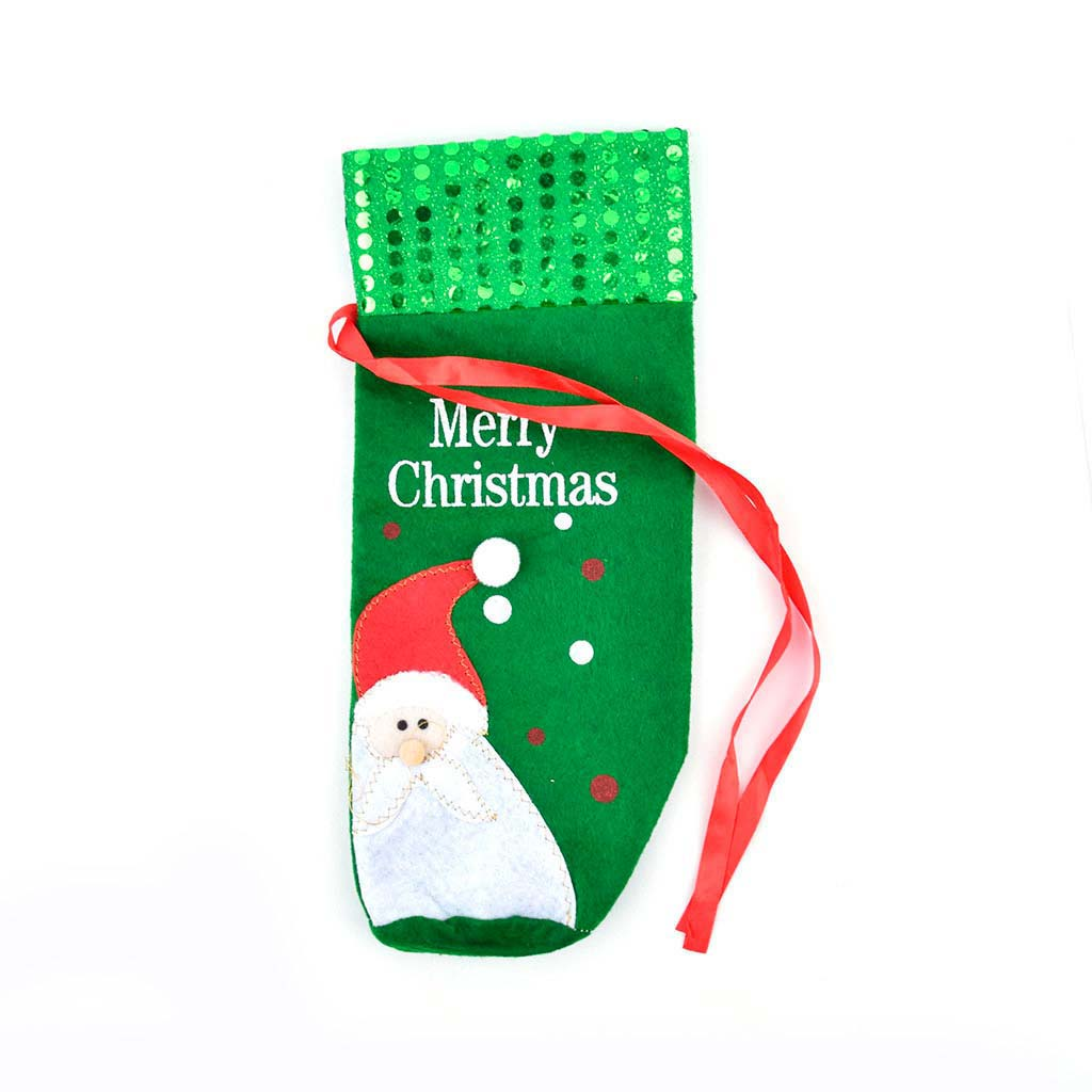 Obal na fľašu, vianočný, mix motívov