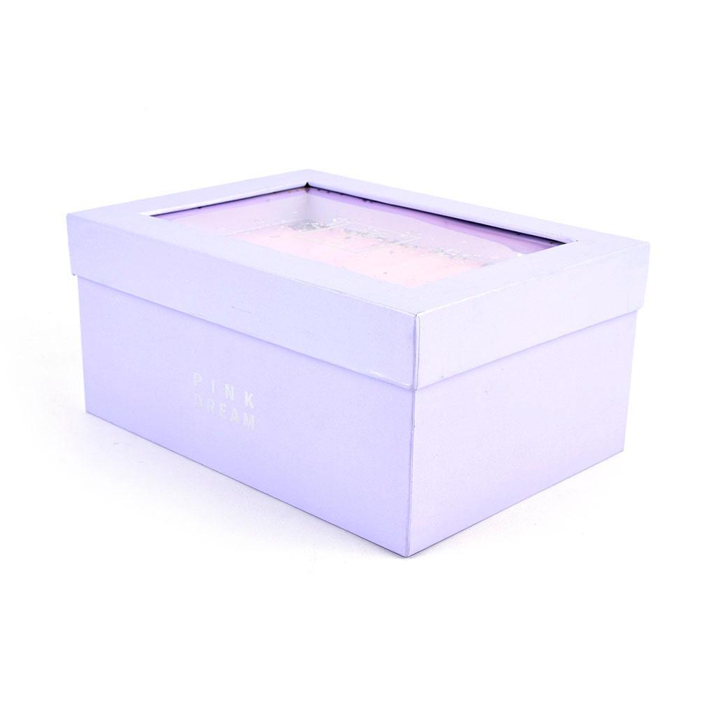 """Papierová krabica, mix 3 veľkostí """"Pink dream"""", mix motívov"""