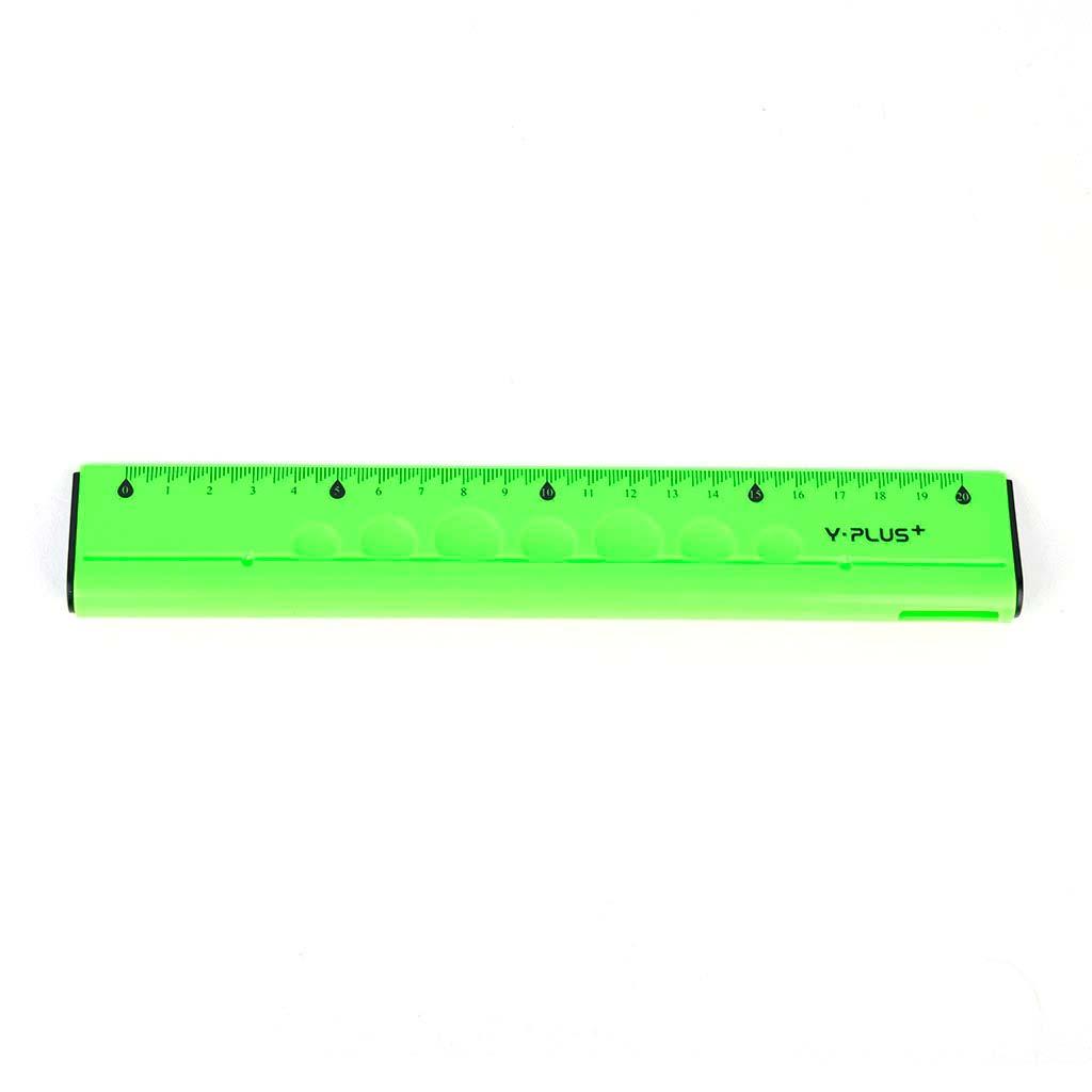 Pravítko ergonomické 4 v 1, 20 cm, mix farieb