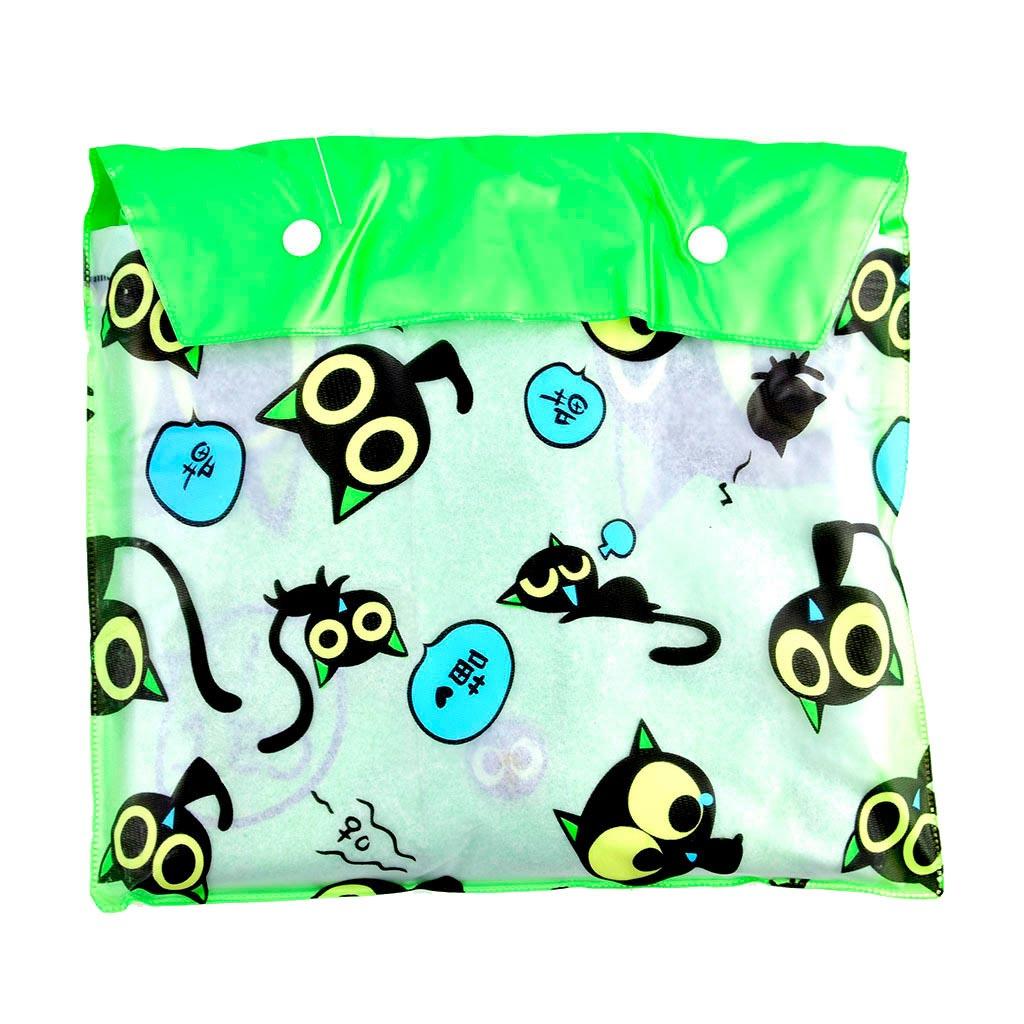 Pršiplášť detský s otvorom na školskú tašku, veľkosť M, mix farieb