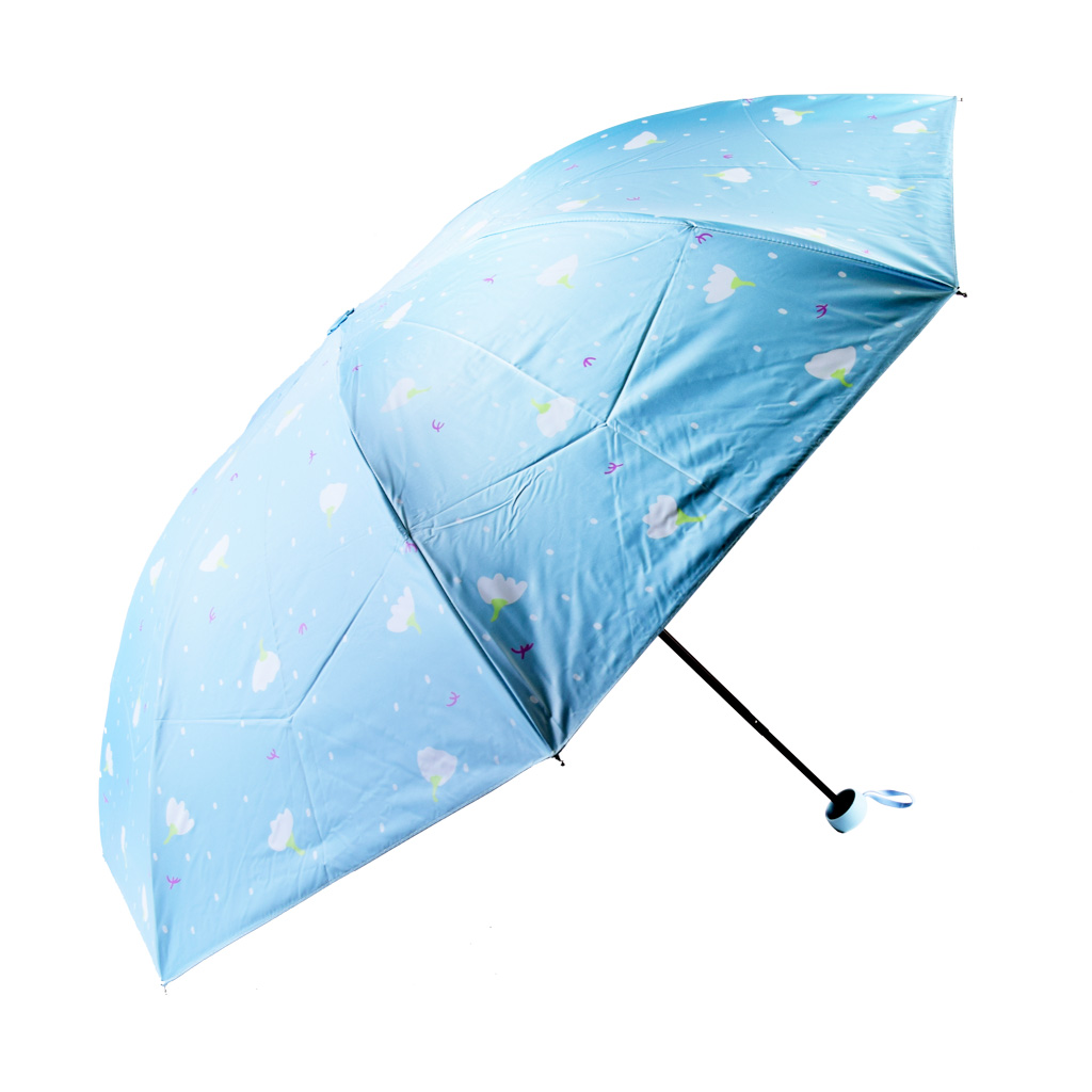 Dáždnik skladací, margarétky, mix farieb