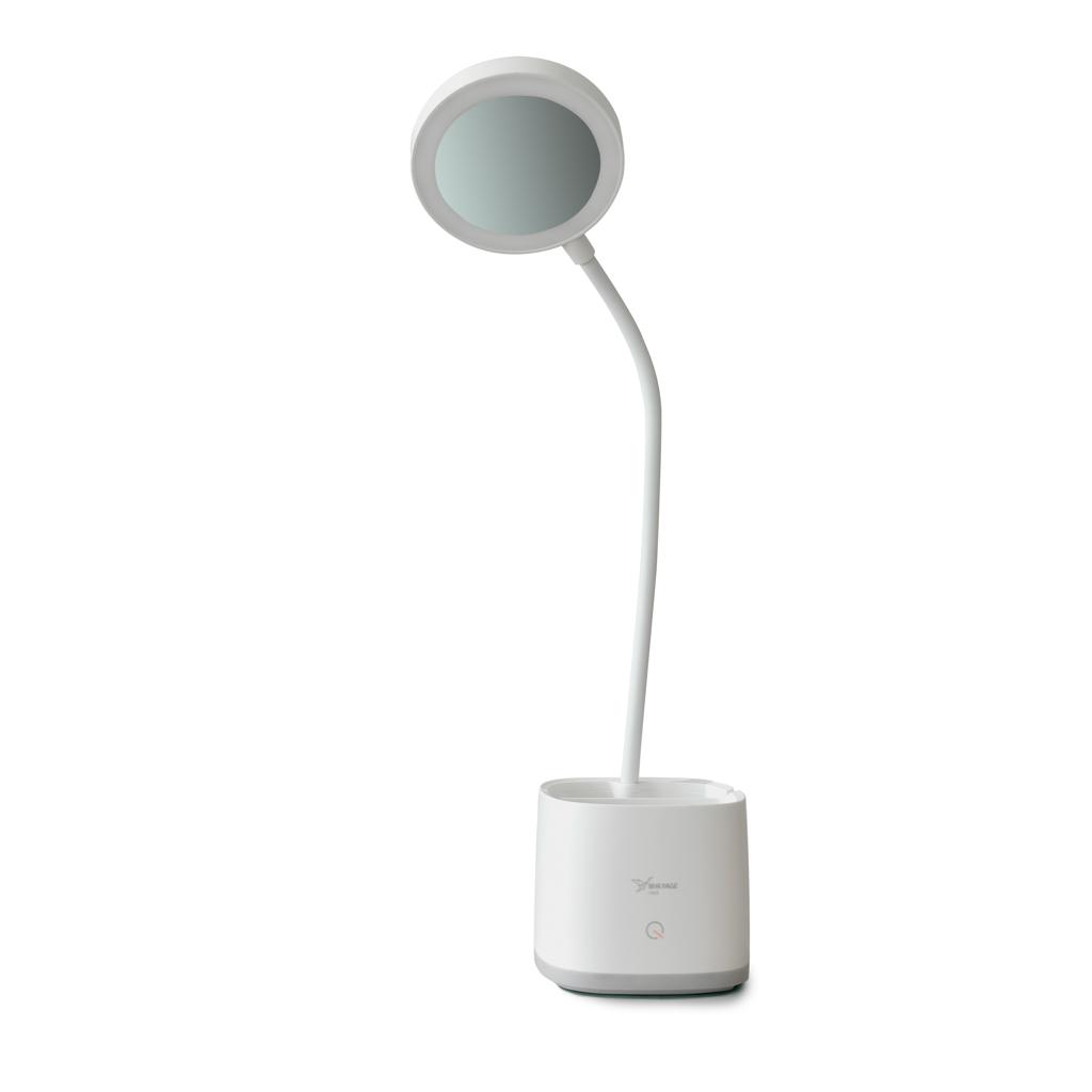 LED lampa so stojanom a zrkadielkom