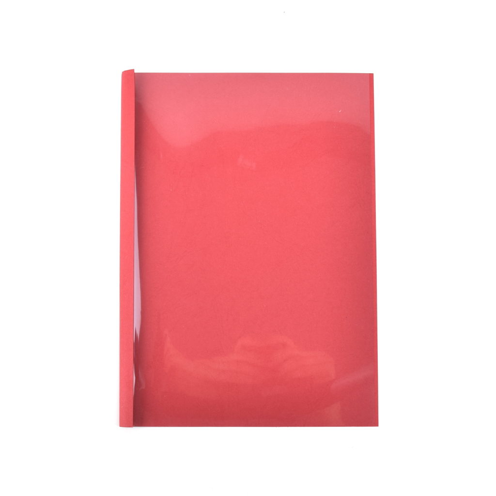 Termoobálky Prestige, 4 mm (max 40 listov), červené, 10 ks