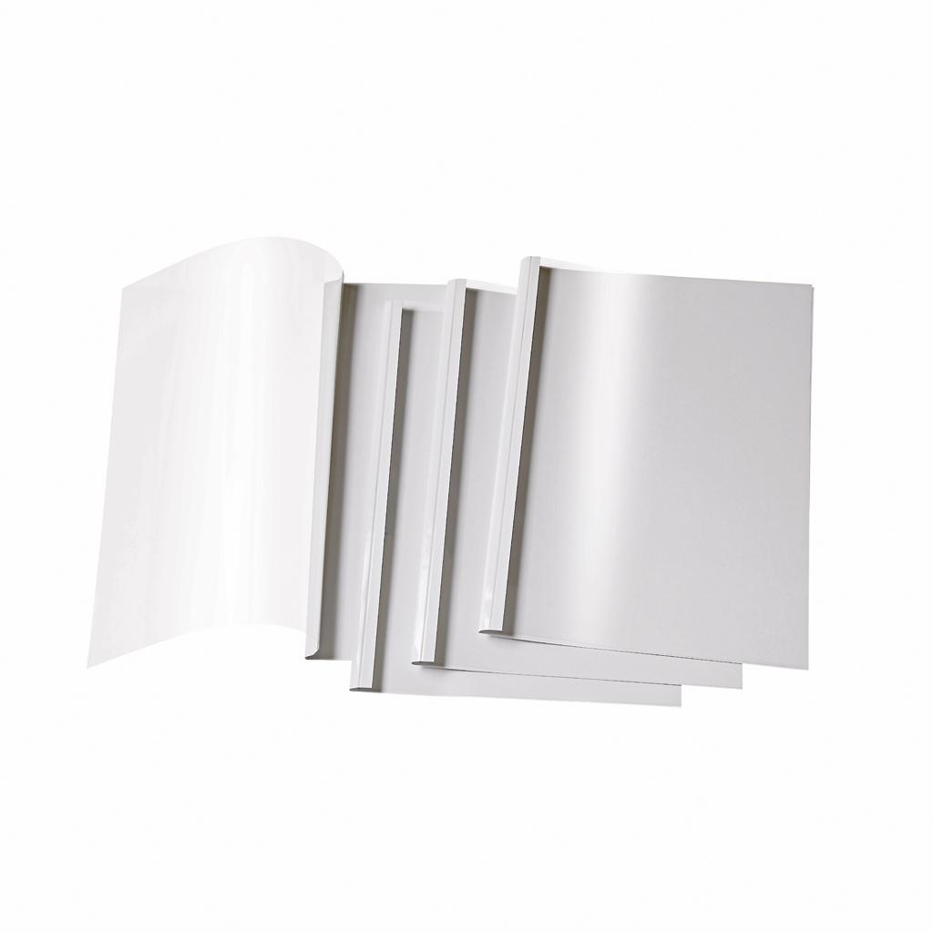 Termoobálky 10 mm biela / 10 ks v balení