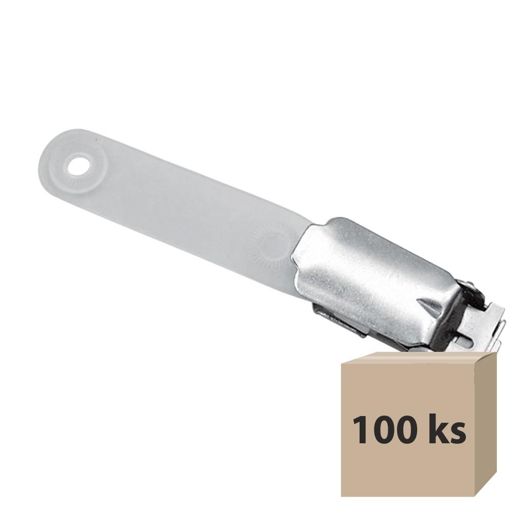 Klip na visačku CT 905 kovový, 100 ks