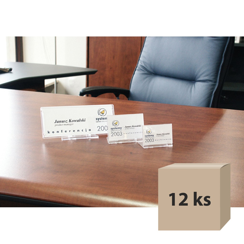 Menovka na stôl SRD 527, 12 ks