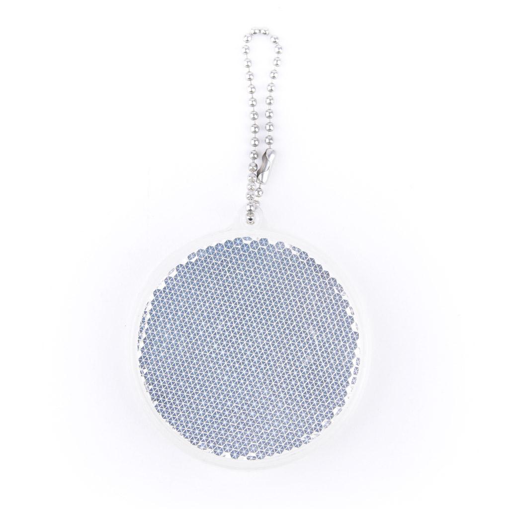 Reflexný prívesok kruh, tvrdý materiál