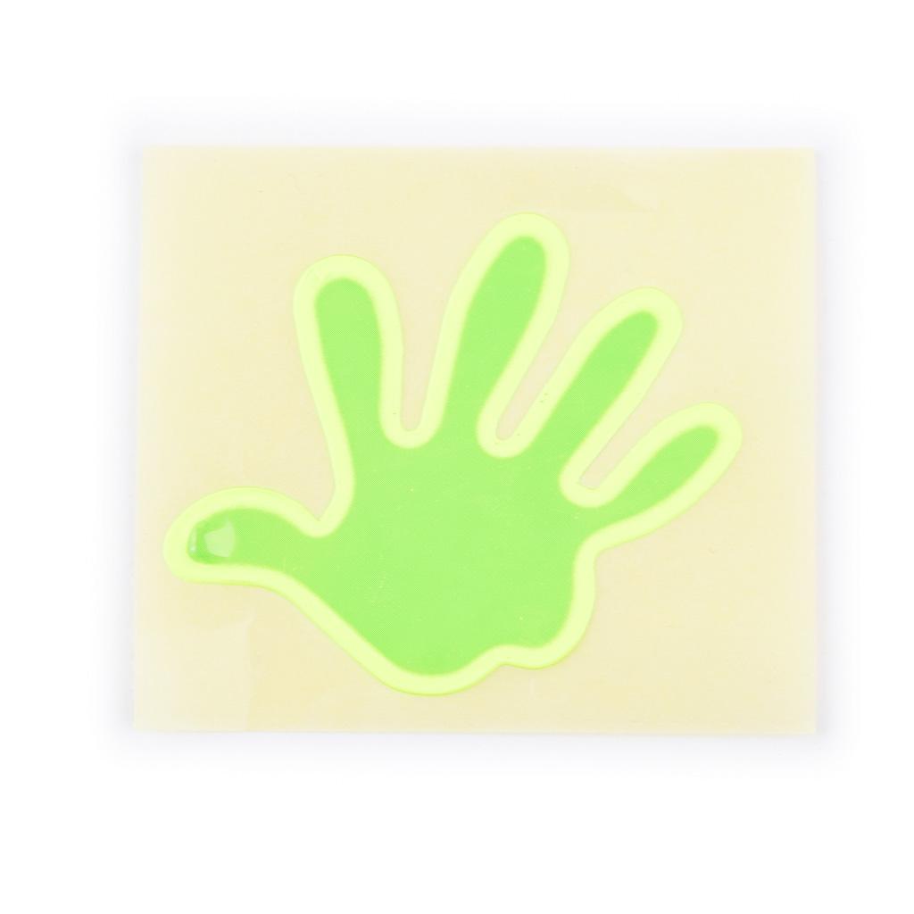Reflexná nálepka dlaň