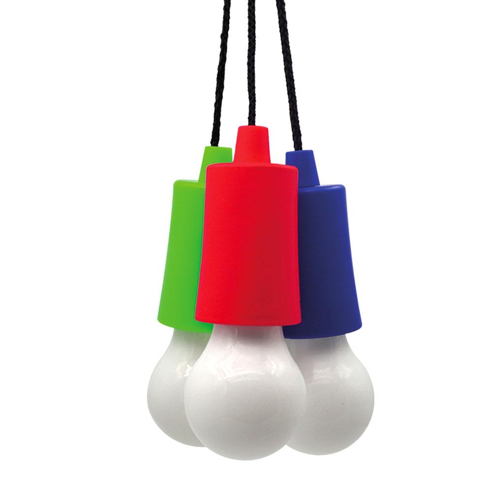 LED žiarovka na šnúrke, mix farieb