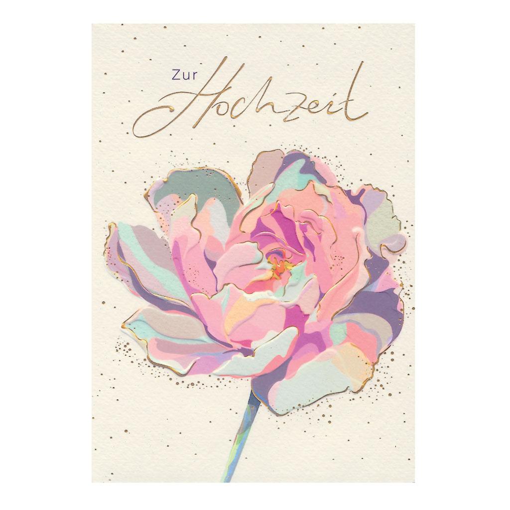 Blahoželanie svadobné, Ruža