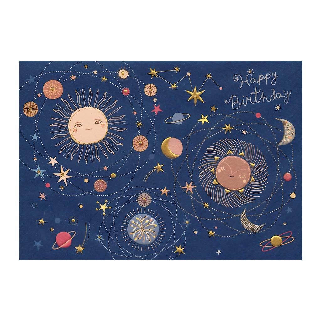 Blahoželanie, Happy Birthday - Planéty