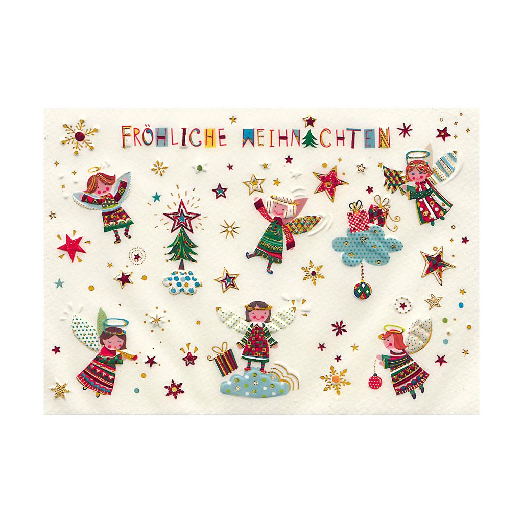 Blahoželanie vianočné, Anjelikovia