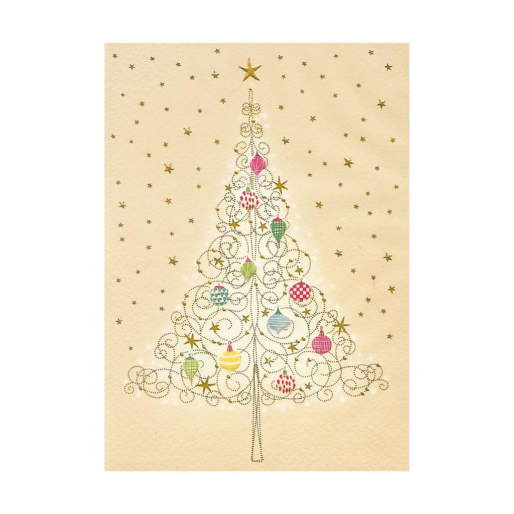 Blahoželanie vianočné, Vianočný strom zlatý