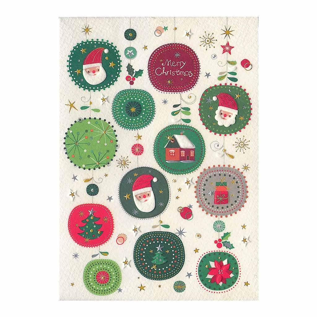 Blahoželanie vianočné, Vianočné gule