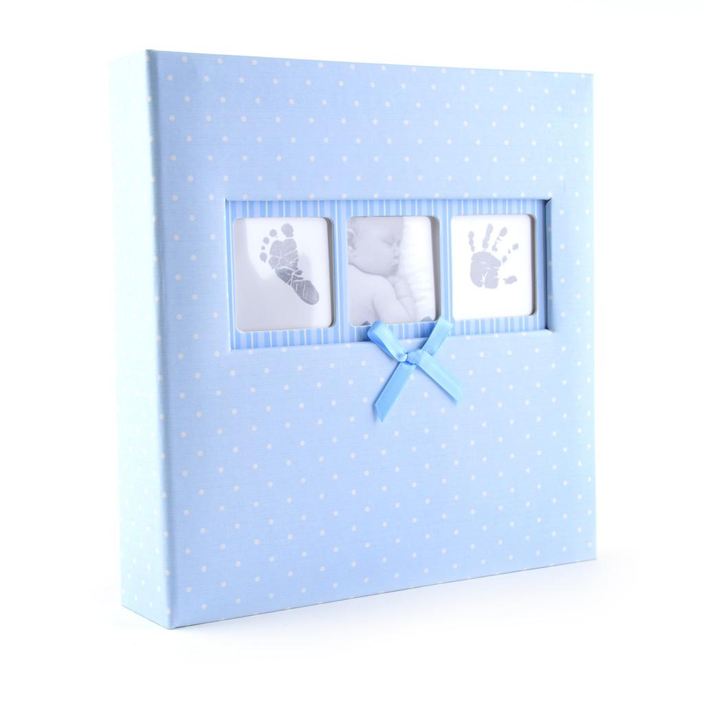 "Fotoalbum ""BABY"" bodkovaný, 200 fotiek 10x15 cm, mix farieb"