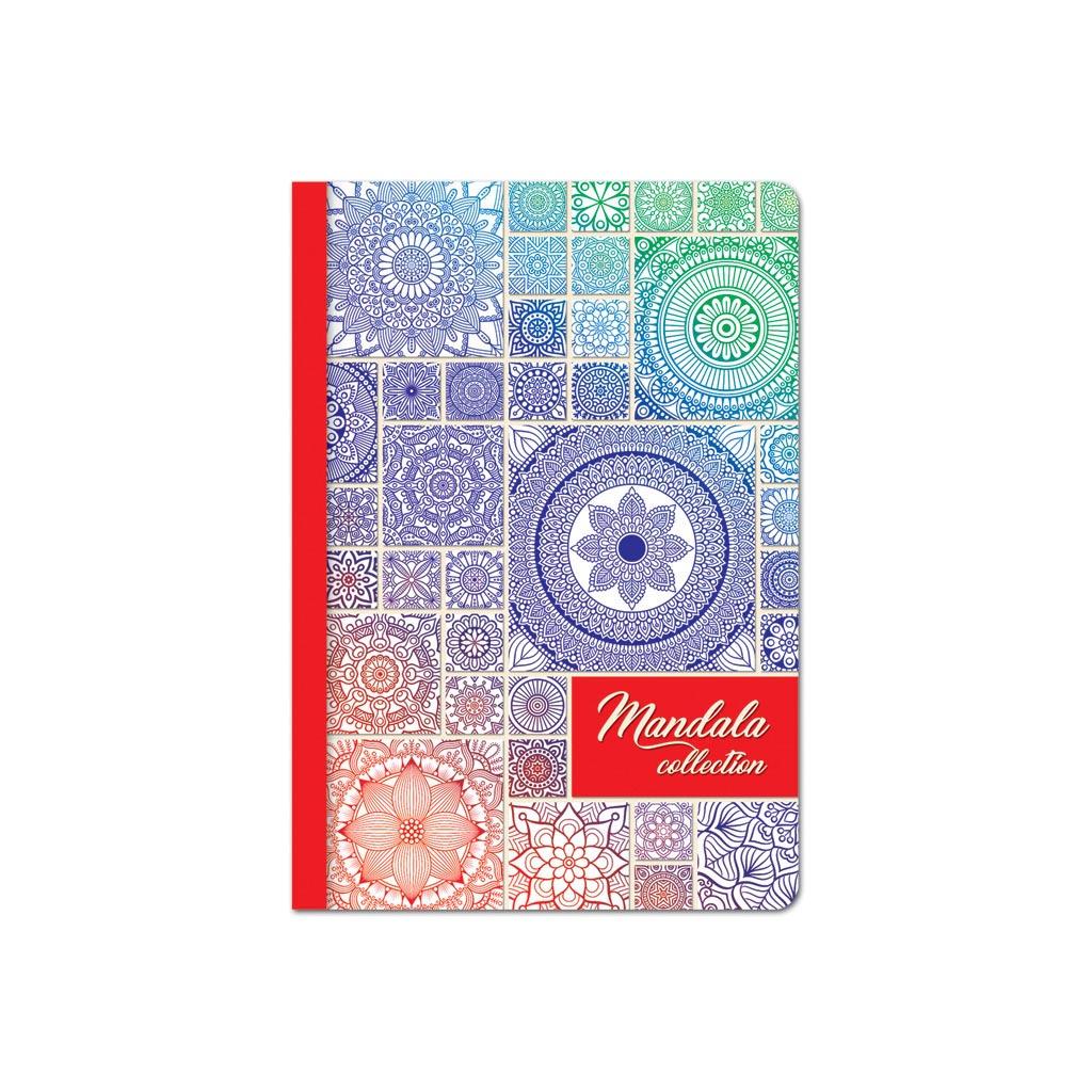 Nekonečný diár A5, Mandala, 228 strán, mix motívov