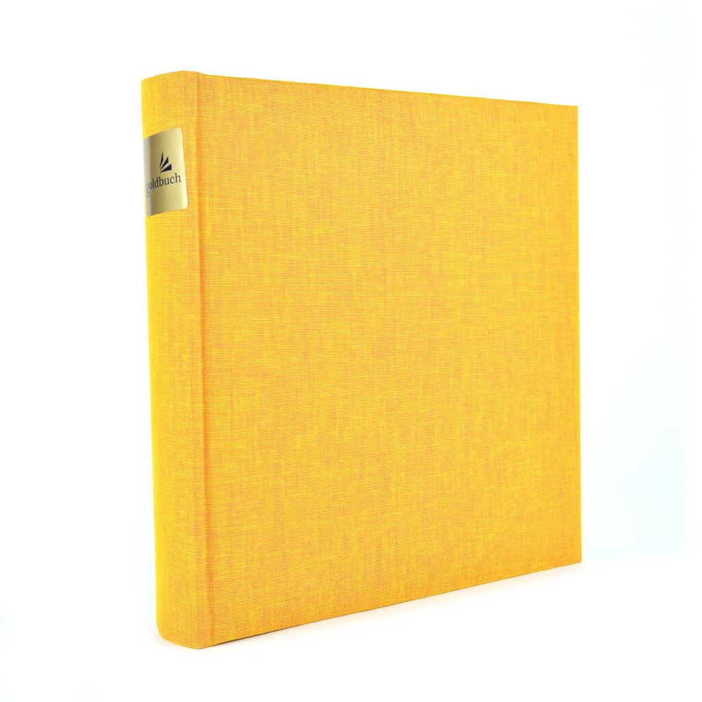 "Fotoalbum ""Summertime Classic"", 30l. 25x25 cm, oranžový"