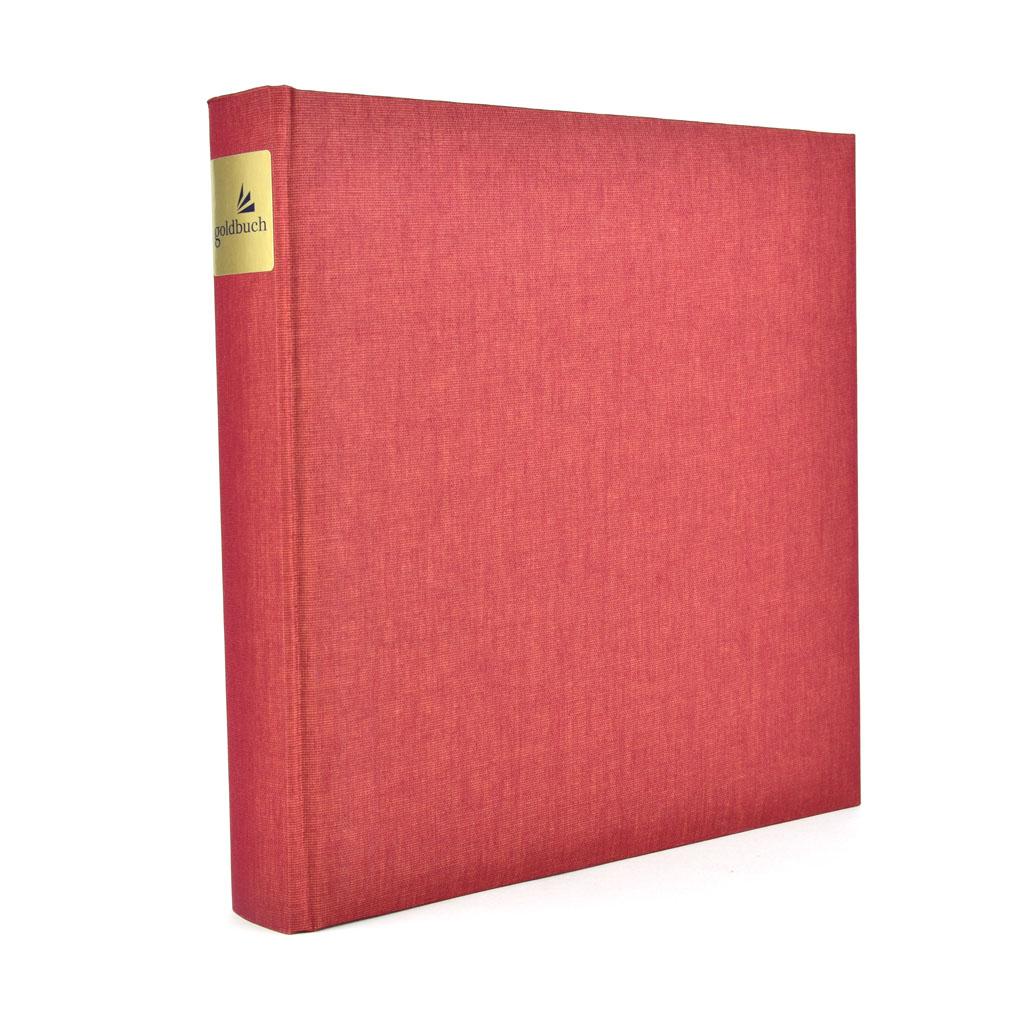 "Fotoalbum ""Summertime Classic"", 30l. 25x25 cm, červený"