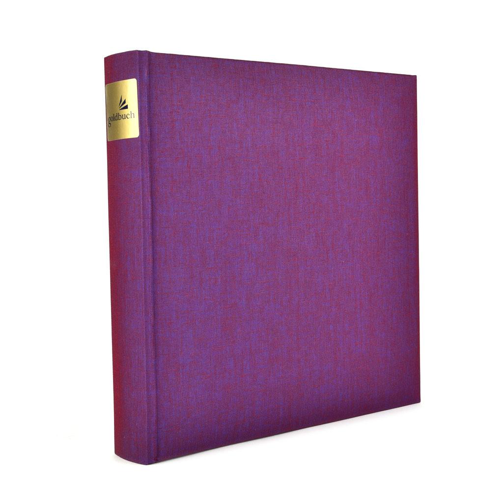 """Fotoalbum """"Summertime Trend"""", 30l., 25x25 cm, fialový"""