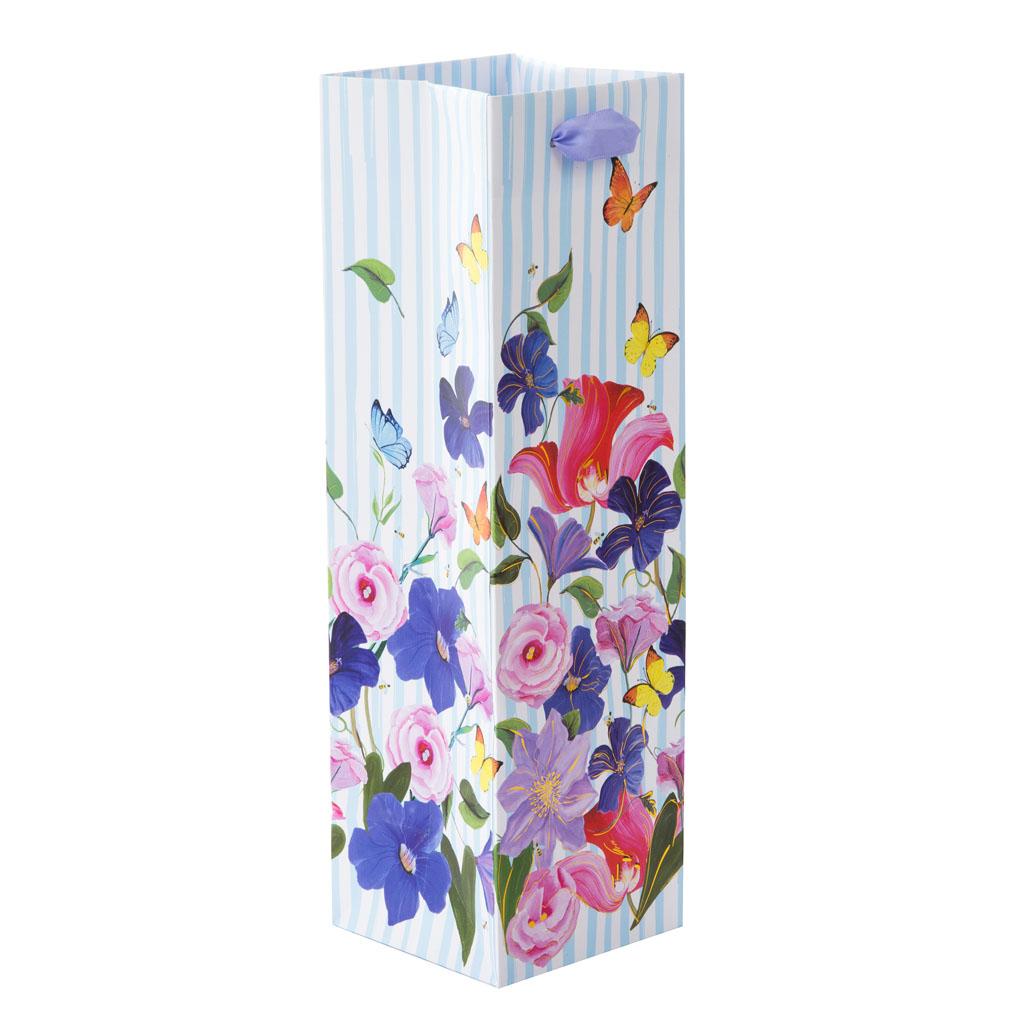 """Darčeková taška na víno """"Garden of Colors"""", 36x10,5x11 cm"""