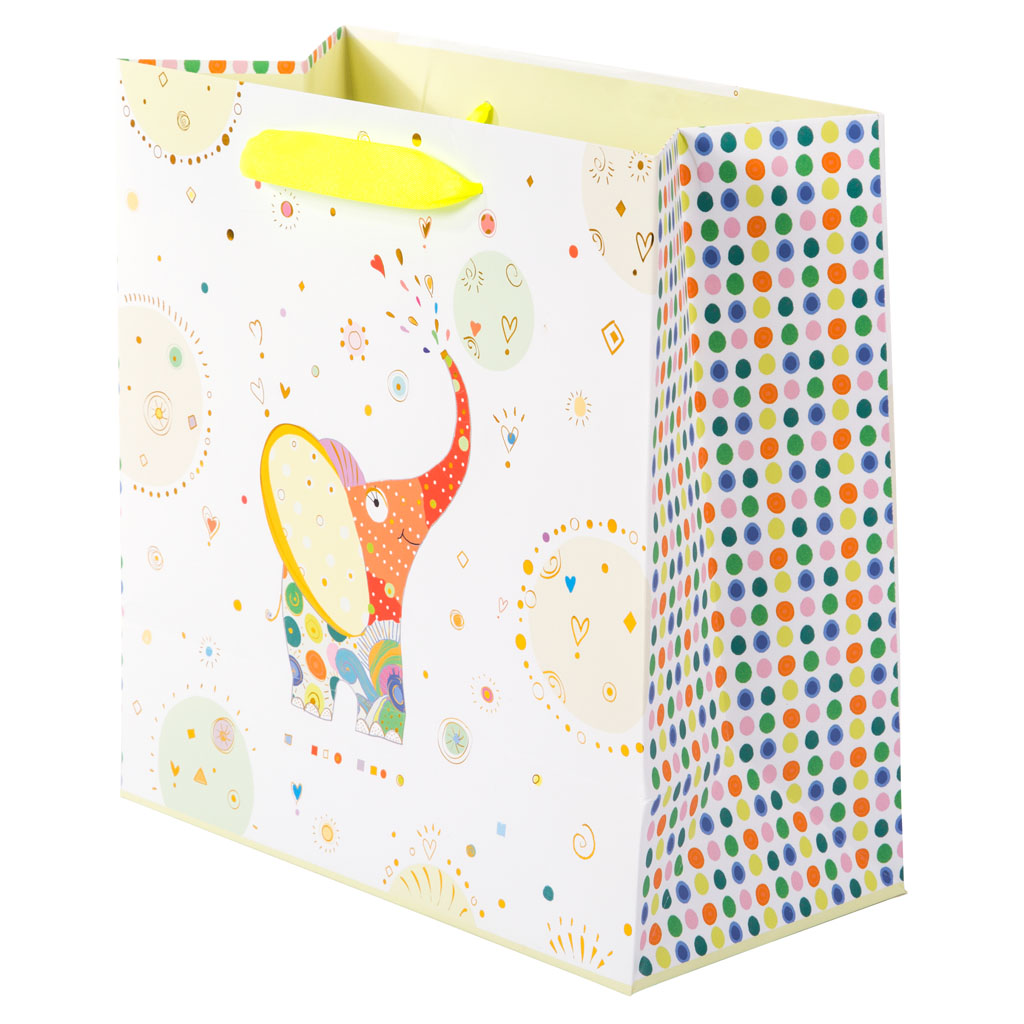 """Darčeková taška """"Elephant"""", 27x13x27 cm"""