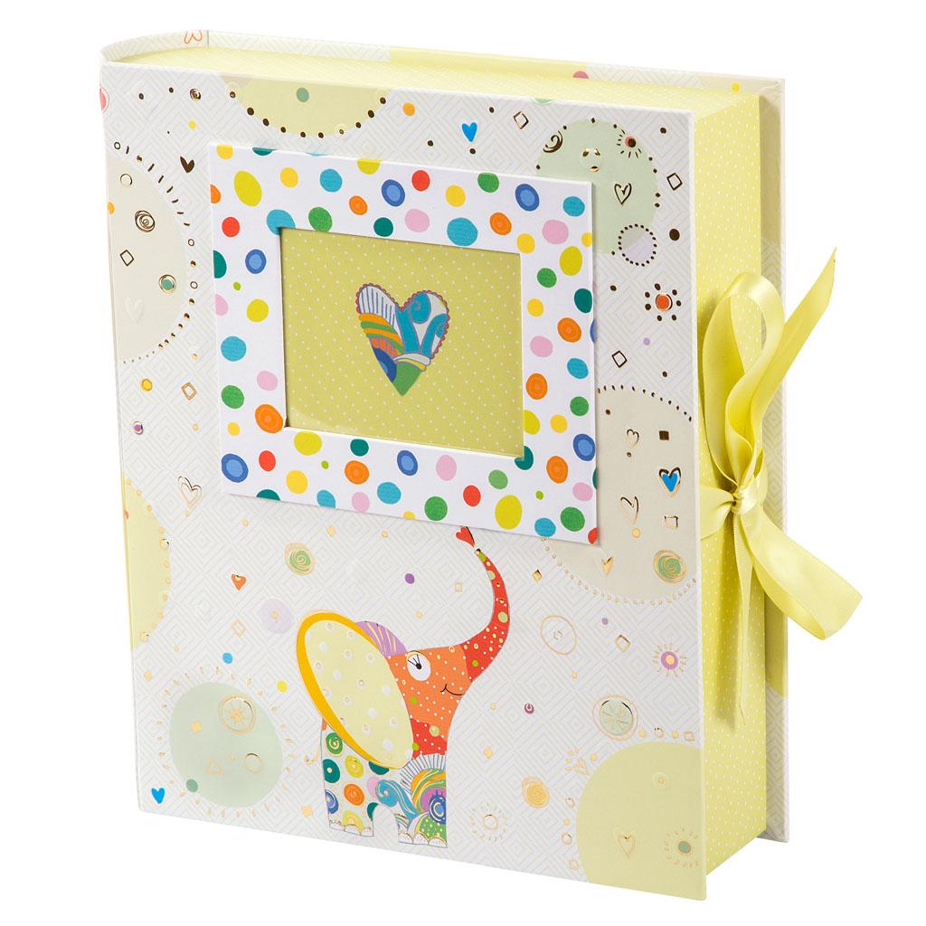 "Box s 3 krabičkami a taškou ""Elephant"", 26x24x6,5 cm"