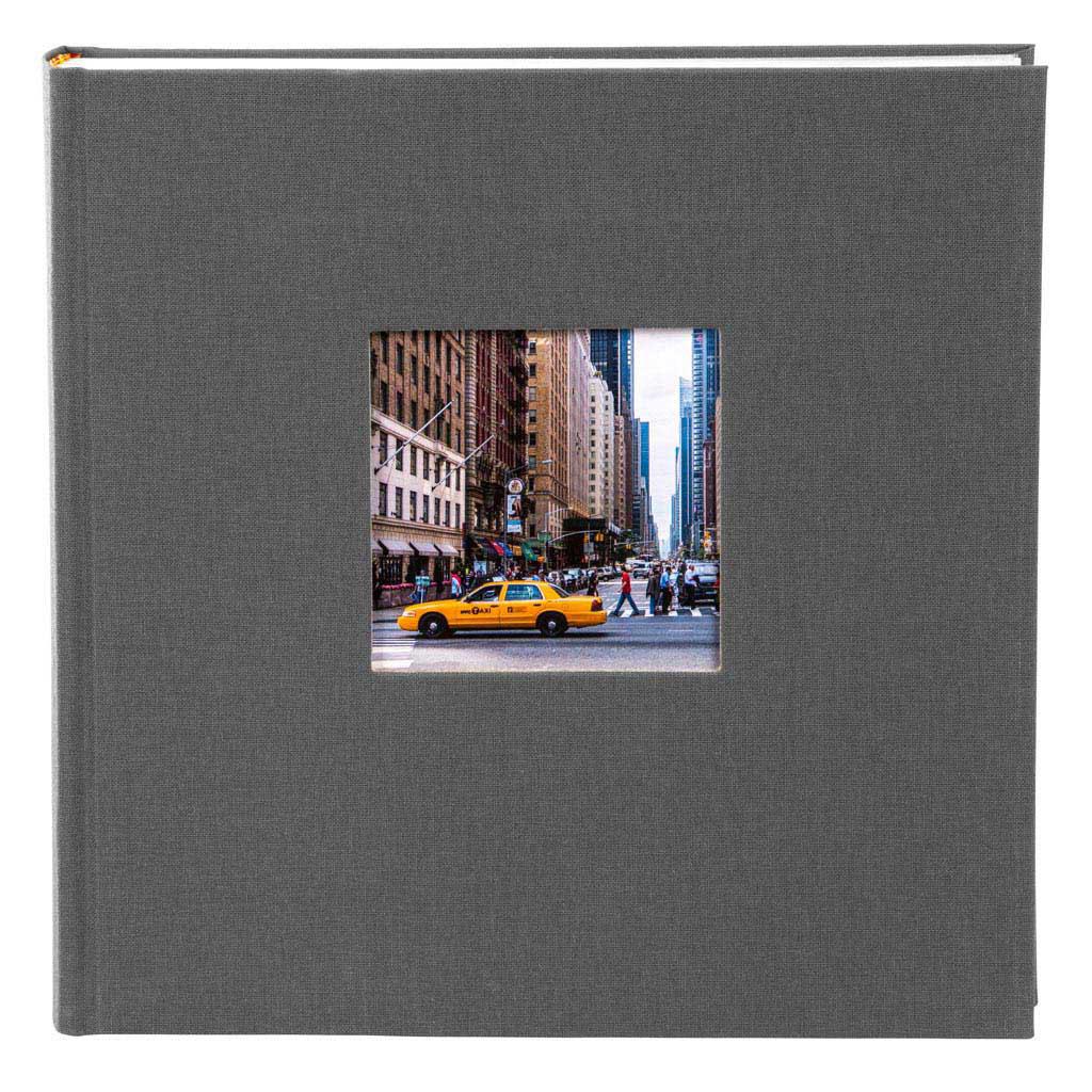 """Fotoalbum """"Bella Vista"""", 200 fotiek 10x15 cm, 23x23 cm, šedý"""