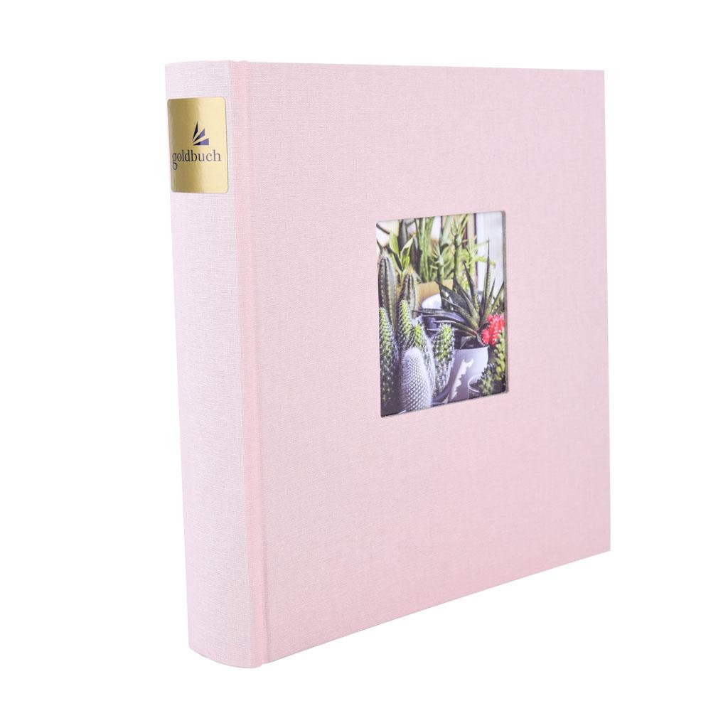 "Fotoalbum ""Bella Vista"", 200 fotiek 10x15 cm, 23x23 cm, rosé"