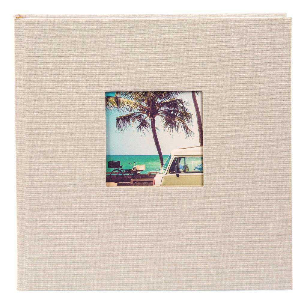 """Fotoalbum """"Bella Vista"""", 200 fotiek 10x15 cm, 23x23 cm, pieskový"""