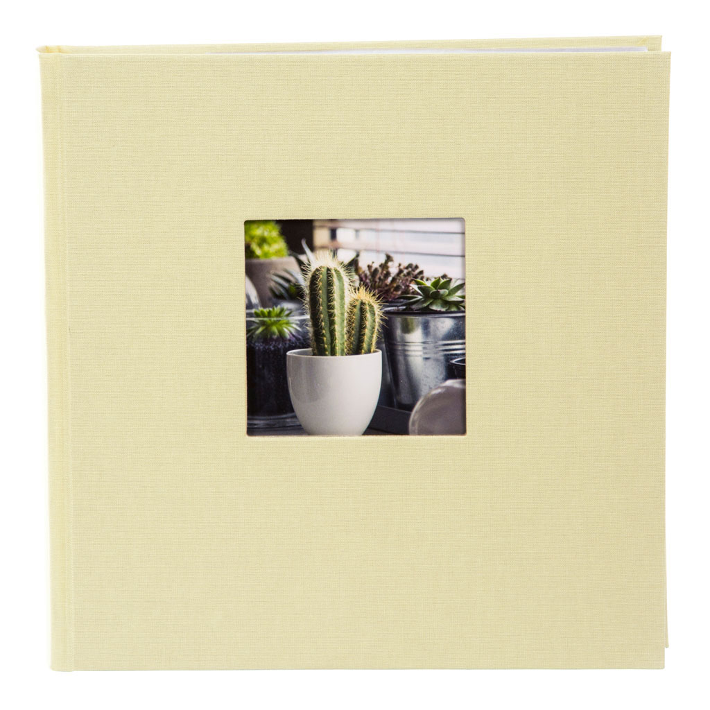 """Fotoalbum """"Bella Vista"""", 200 fotiek 10x15 cm, 23x23 cm, limetkový"""