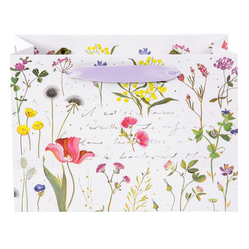 """Darčeková taška """"Wildflowers"""", 18x25 cm"""