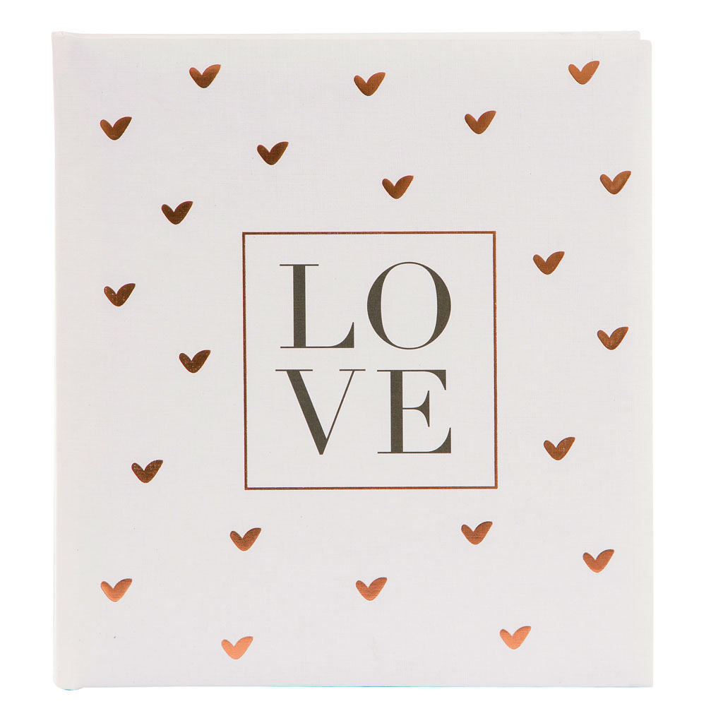 "Kniha hostí ""Love"", 88l., 23x25 cm"