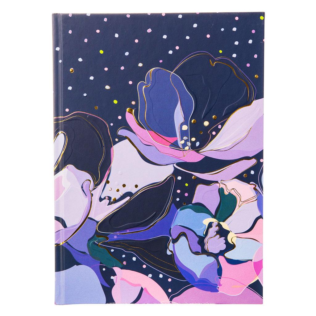 "Blok A5 ""Opium Blue"", 100l, 15x22 cm, čistý"
