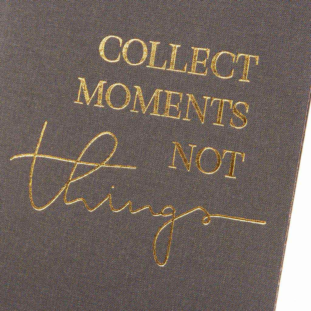 "Blok A5 ""Collect Moments"" 100l., 15x22 cm, bodkovaný, mix motívov"