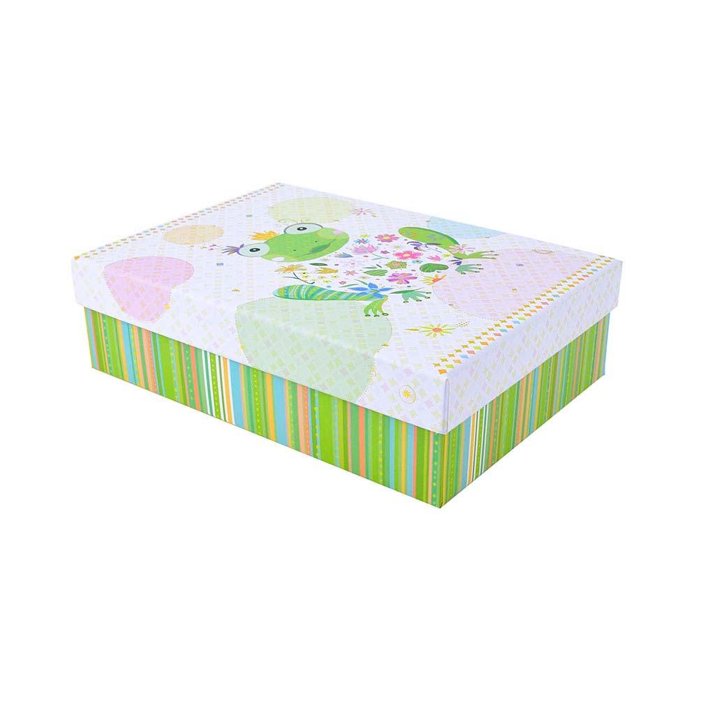 """Papierová krabica 15,5x22x6,5 cm, """"Happy Frog"""""""