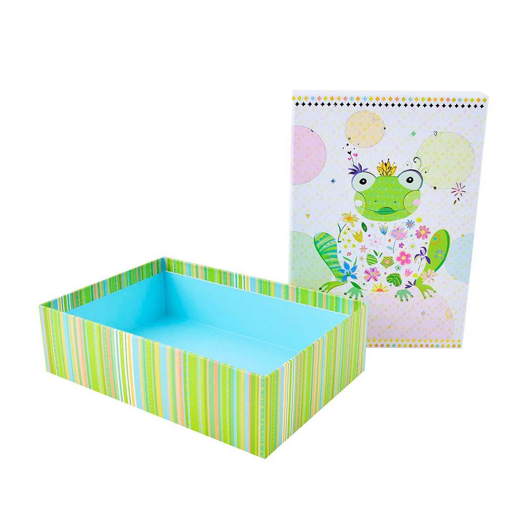 """Papierová krabica 18,5x26x7 cm, """"Happy Frog"""""""