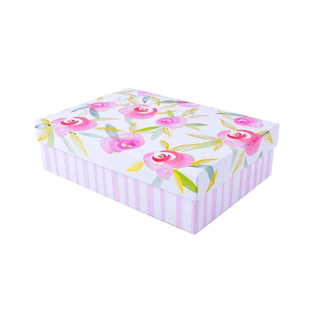 "Papierová krabica 18,5x26x7 cm, ""Garden of Love"""