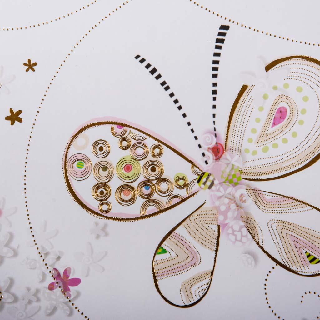 "Fotoalbum ""Butterflies in Love"", 30l., 30x31 cm"