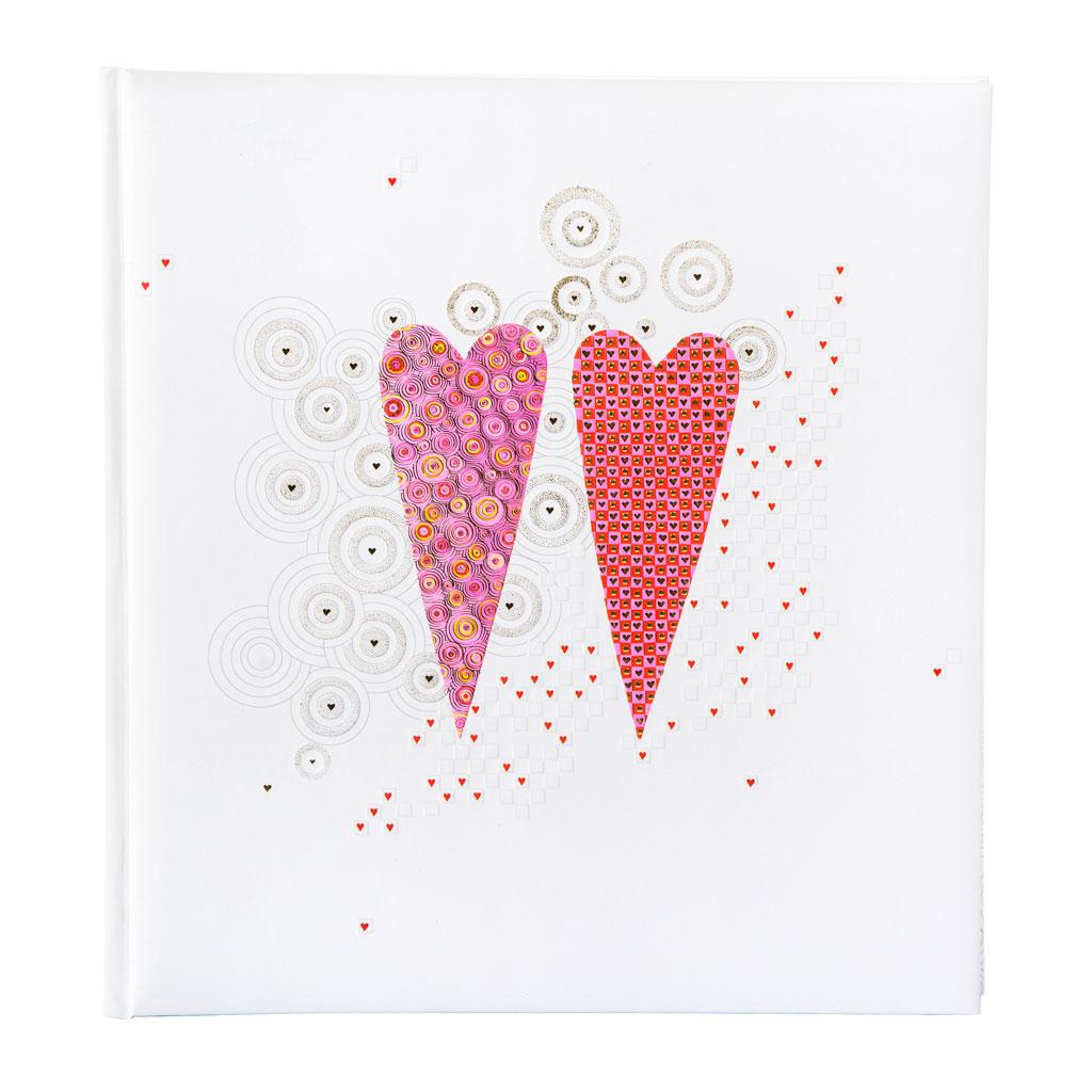 "Fotoalbum ""2 Hearts"", 30l., 30x31 cm"