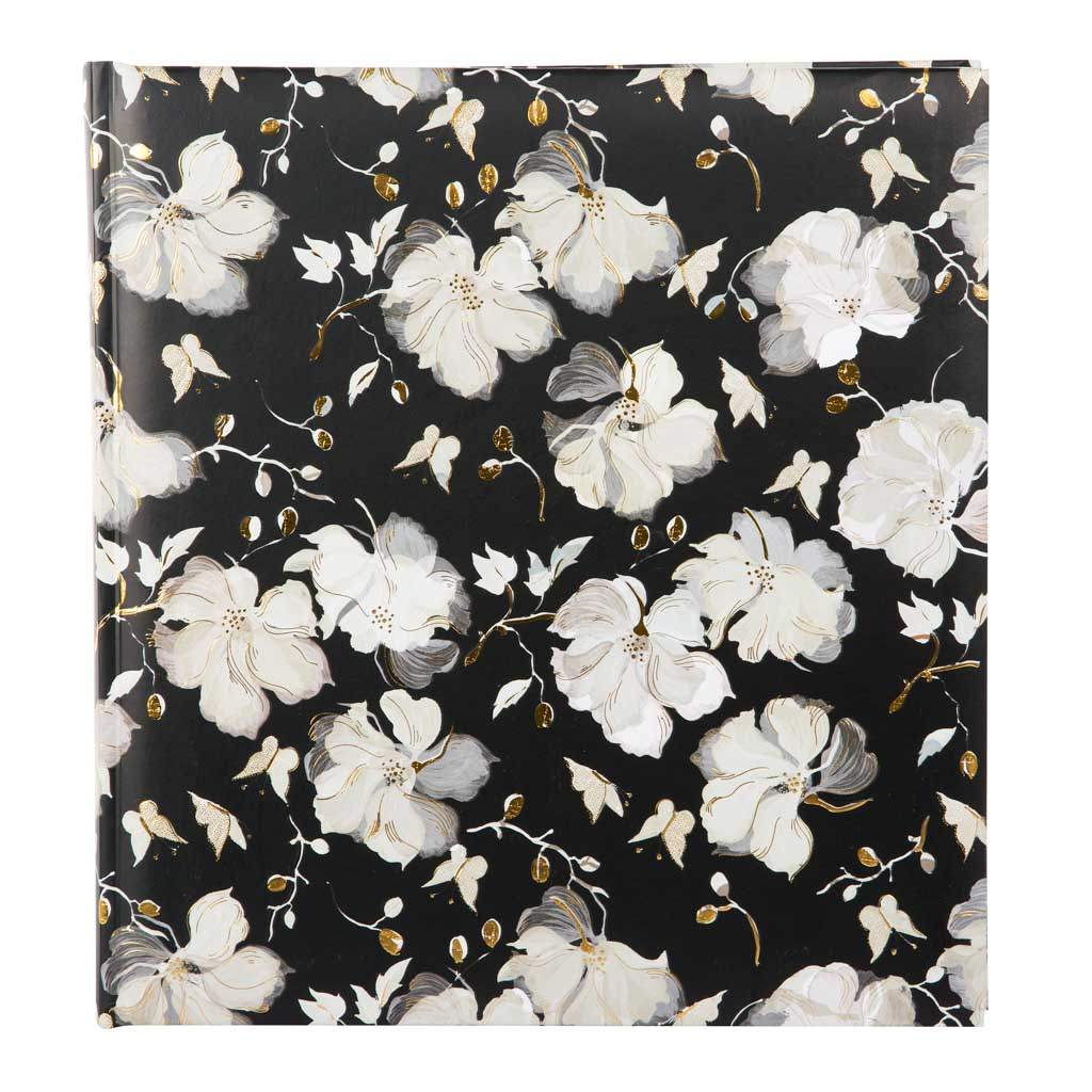 """Fotoalbum """"La Rose Black"""", 30l., 30x31 cm"""