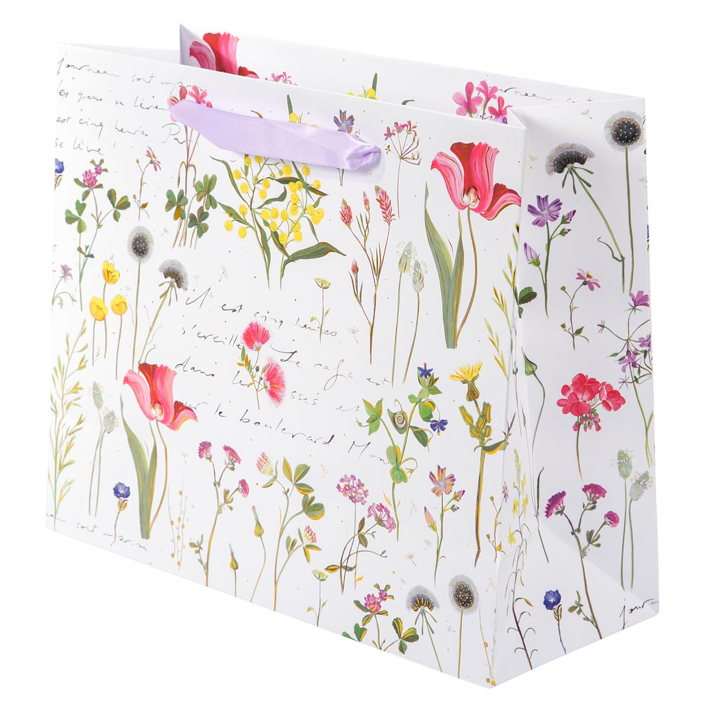 """Darčeková taška """"Wildflowers"""", 27x33 cm"""